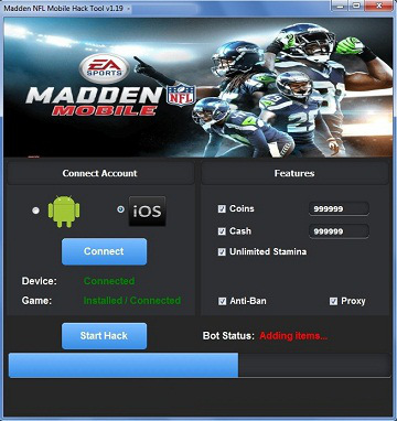 madden mobile coins hack tool